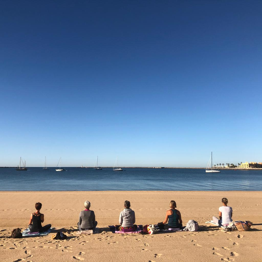 Beach Yoga  – Becoming One with Nature