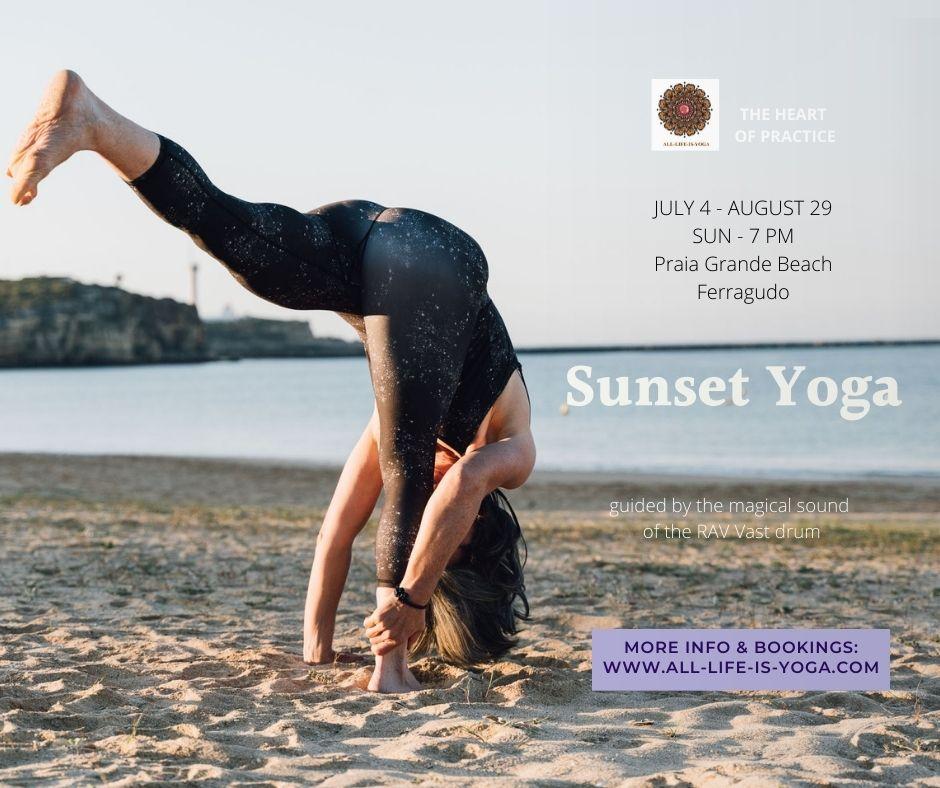Magial Sunset Yoga & Drum