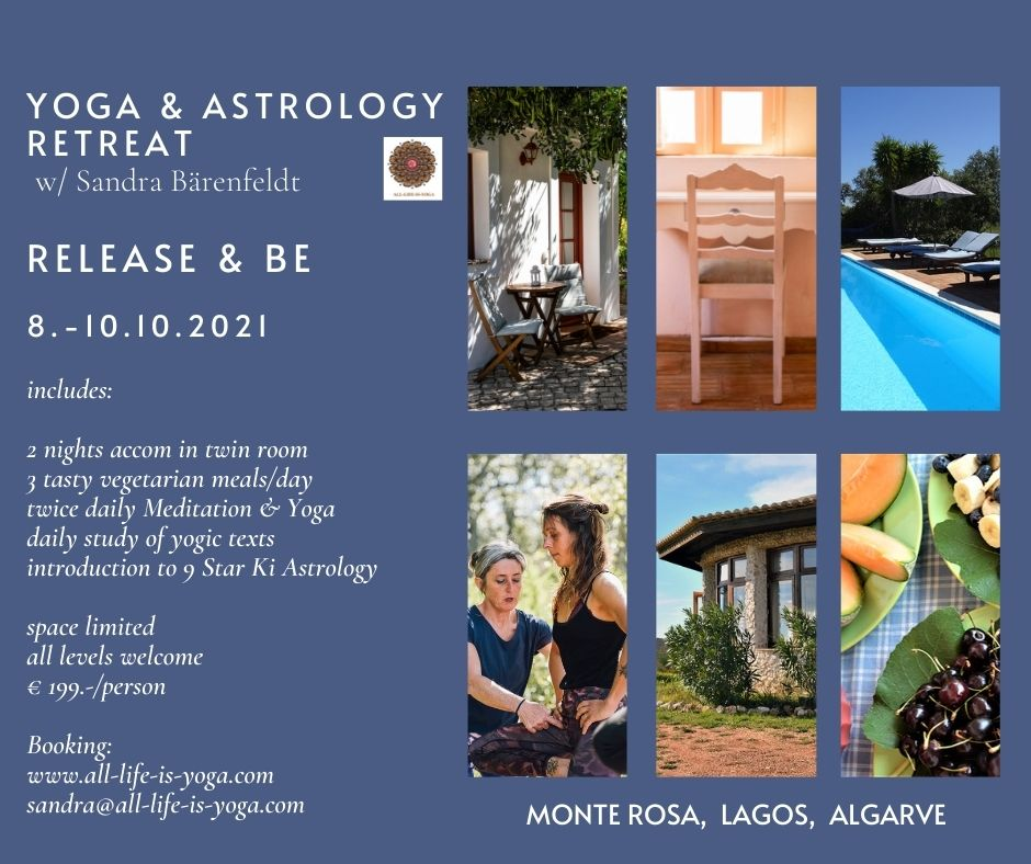 Beautiful 3 day Yoga and Astrology Retreat